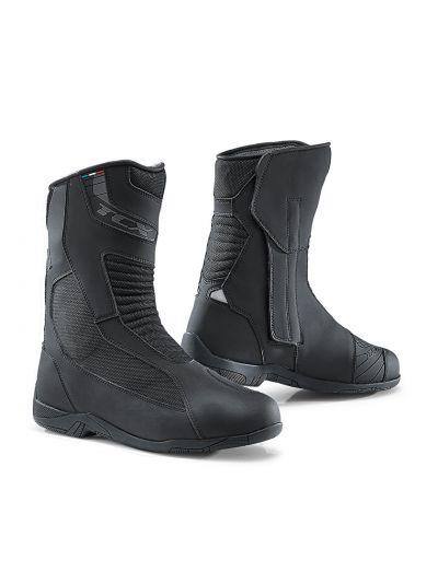 Motoristični touring škornji TCX EXPLORER.4 Gore-Tex® - črni