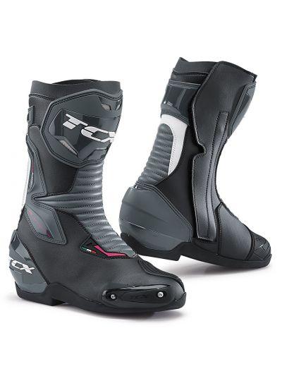 Ženski motoristični škornji TCX SP-MASTER Lady - črni/beli