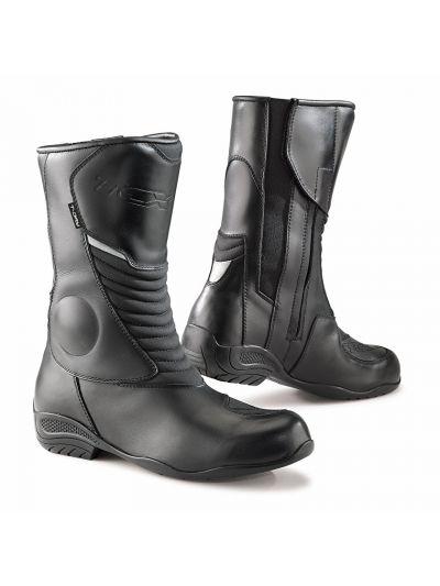 TCX AURA PLUS WP Lady ženski motoristični škornji - črni