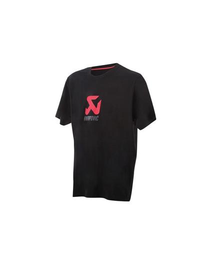 Moška majica s kratkimi rokavi AKRAPOVIČ - črna