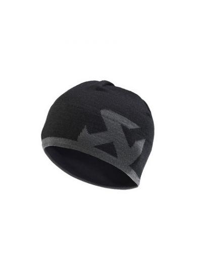 Zimska kapa AKRAPOVIČ - črna