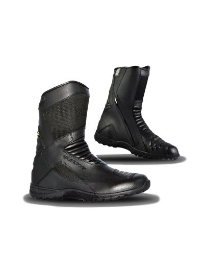 ELEONE DEVON CE WP vodoodporni motoristični škornji - črni