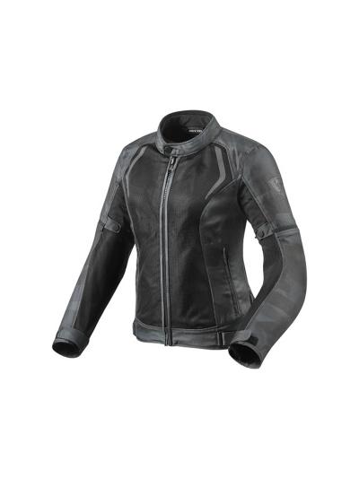 REV'IT! TORQUE Ladies ženska motoristična tekstilna jakna - črna/camo/siva