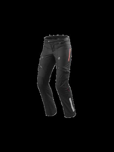 HORIZON 2 LADY - REV'IT - Ženske motoristične hlače - sivo-črne