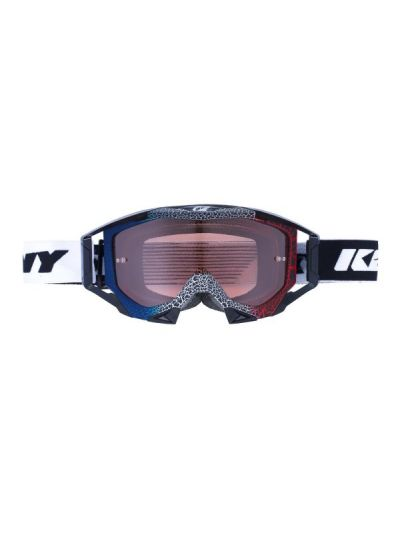 Kenny Racing TITANIUM Granite motoristična cross očala - modra/bela/rdeča