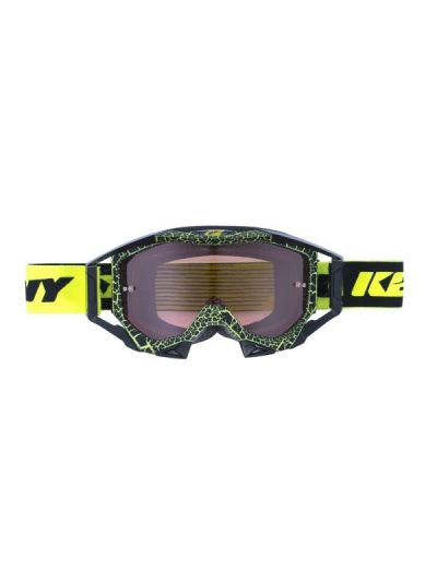 Kenny Racing TITANIUM Granite motoristična cross očala - neon rumene