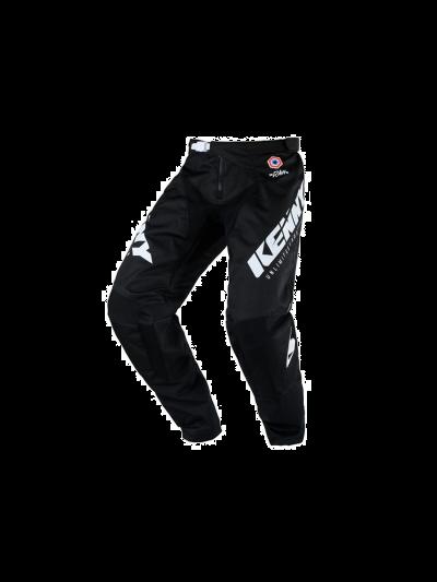 Kenny Racing TRACK RAW motoristične cross hlače - črne