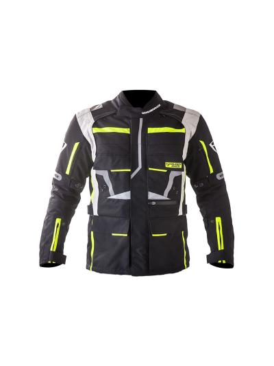 MugenRace HIPOKI 1535 tekstilna motoristična jakna - črna / rumena