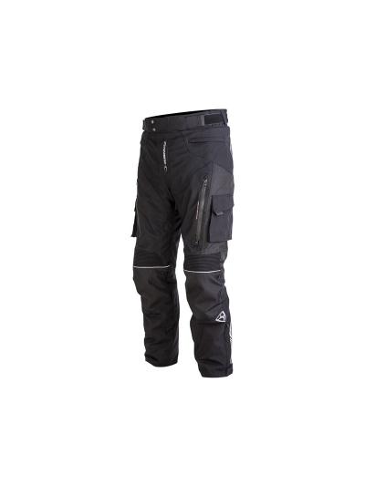 Tekstilne motoristične hlače MugenRace 1851 VENTURE - črne
