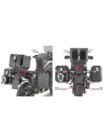 GIVI PLO2145CAM nosilci stranskih kovčkov Trekker Outback za Yamaha Tenere 700 (2019 - )