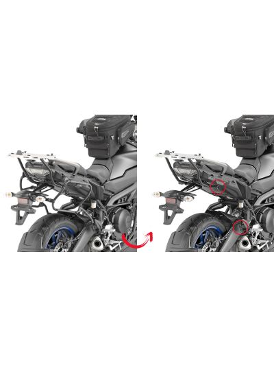 GIVI PLXR2139 hitro snemjivi nosilci strankih kovčkov za Yamaha Tracer 900 / GT (2018 - )