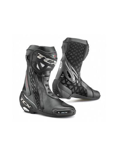 TCX RT-Race WP vodoodporni črni motoristični škornji