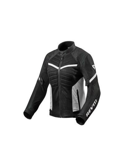 REV'IT ARC AIR LADIES Ženska tekstilna mesh motoristična jakna - črna / bela