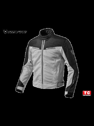 AIRWAVE 2 REV'IT - Tekstilna motoristična jakna - srebrno/črna