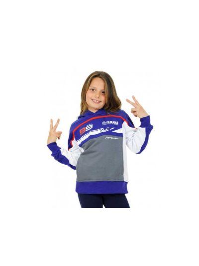 Pulover Yamaha-Lorenzo bel/moder