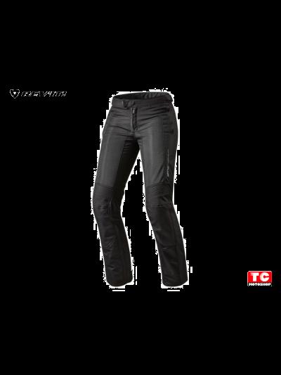 AIRWAVE 2 LADY - REV'IT - Ženske tekstilne motoristične hlače - črne podaljšane