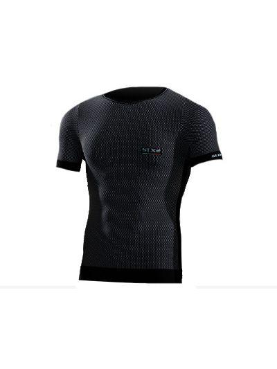 Majica s kratkimi rokavi SIXS črna