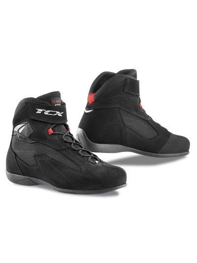 TCX PULSE motoristični nizki čevlji - črni