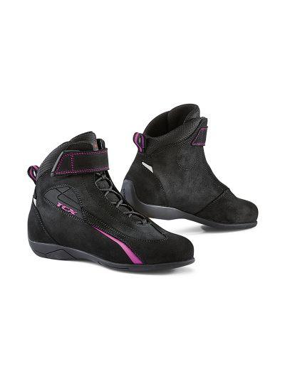 TCX SPORT LADY ženski motoristični čevlji - črni/roza