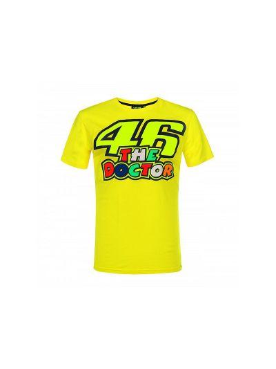 Majica s kratkimi rokavi 46 The Doctor VR46 - rumena