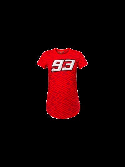 Ženska majica M.Marquez 93 - rdeča