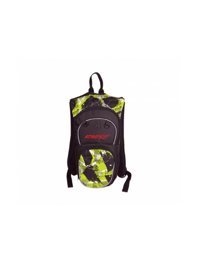 ATROX Tekstilni nahrbtnik - črn/fluo