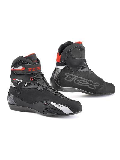 TCX X-Rush WP motoristični škornji - črni