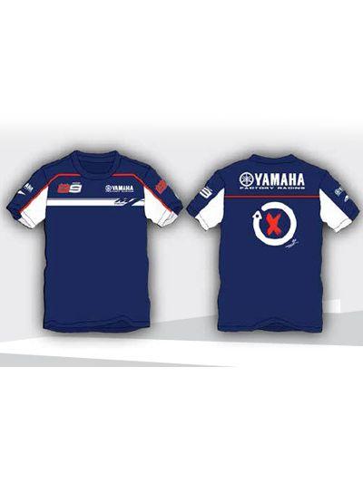 Otroška T-SHIRT majica Lorenzo Yamaha modra