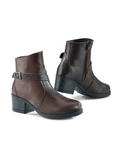 TCX X-BOULEVARD WP Lady ženski motoristični škornji - rjavi