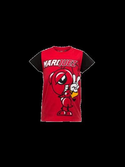 Otroška majica M.Marquez 93 - rdeča