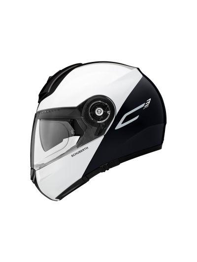 Motoristična čelada SCHUBERTH C3 PRO - Split Bela
