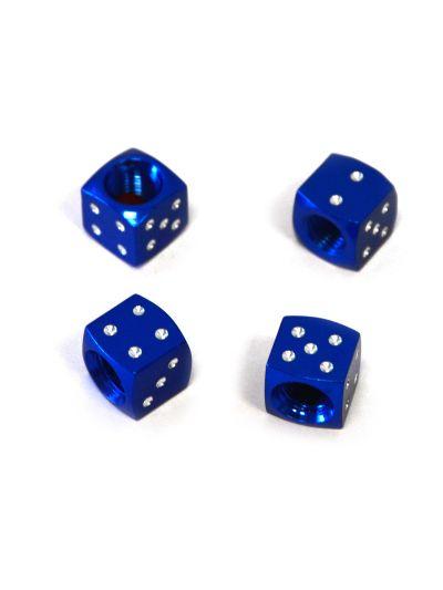 Keiti Pokrovčki ventilov Kocka - modri