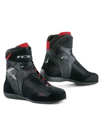 TCX VIBE WP motoristični vodoodporni čevlji - črni