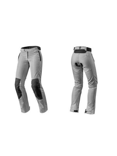 AIRWAVE 2 REV'IT srebrne ženske motoristične tekstilne hlače