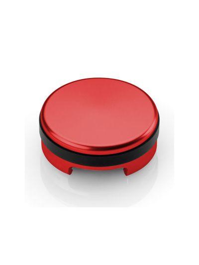 RIZOMA TP014R Pokrovček posode za zavorno tekočino - rdeč