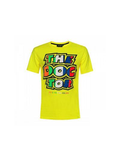 Majica s kratkimi rokavi The Doctor VR46 Classic - rumena