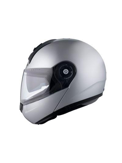 Motoristična čelada SCHUBERTH C3 Basic srebrna