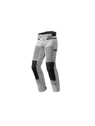 TORNADO 2 REV'IT - Tekstilne motoristične hlače - srebrne