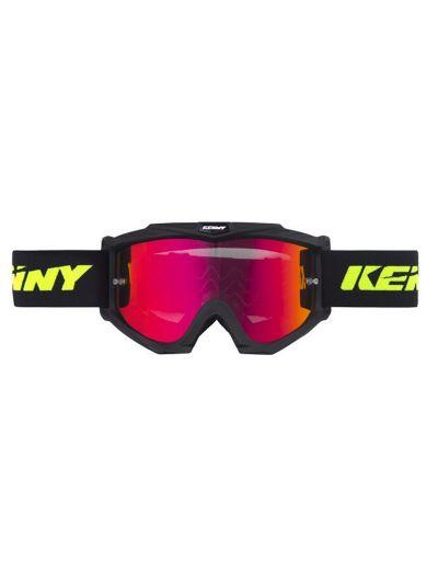KENNY RACING TRACK+ motoristična cross očala - mat črna