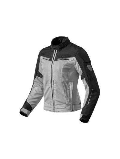 REV'IT AIRWAVE 2 Lady srebrno-črna ženska tekstilna motoristična jakna
