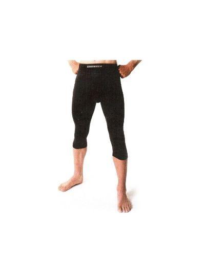 Podobleka RedLevel 3/4 hlače črne