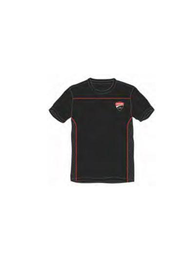 Moška majica s kratkimi rokavi DUCATI Corse - črna