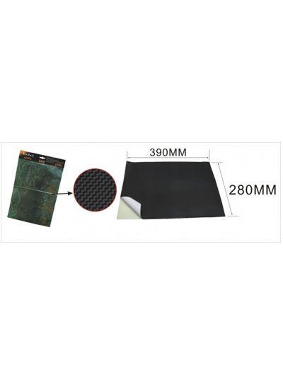 KEITI Carbon Look nalepka | 280 x 390 mm