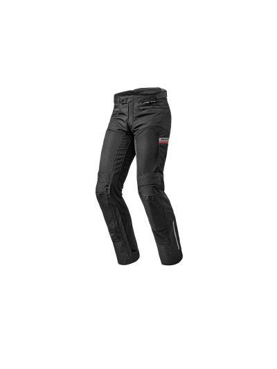 TORNADO 2 REV'IT - Tekstilne motoristične hlače - črne