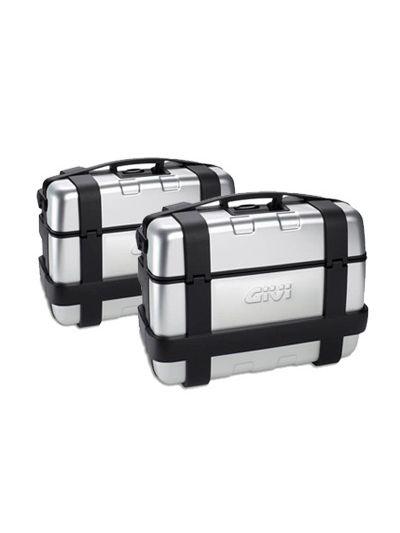 GIVI TREKKER 33L komplet stranskih kovčkov | par, srebrna