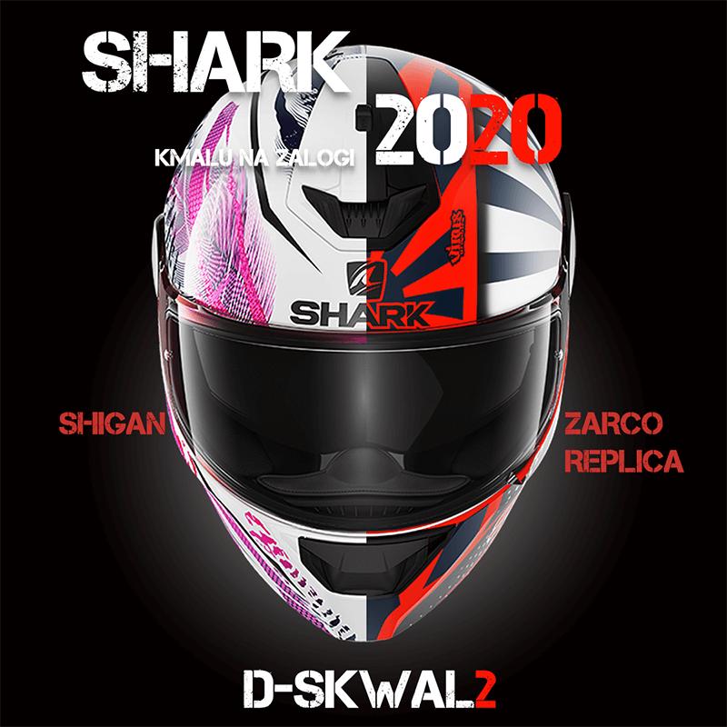 Motoristične čelade SHARK D-SKWAL 2 2020