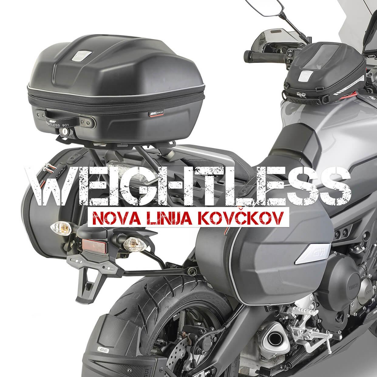 GIVI Weightless | Nova linija pol-trdih kovčkov
