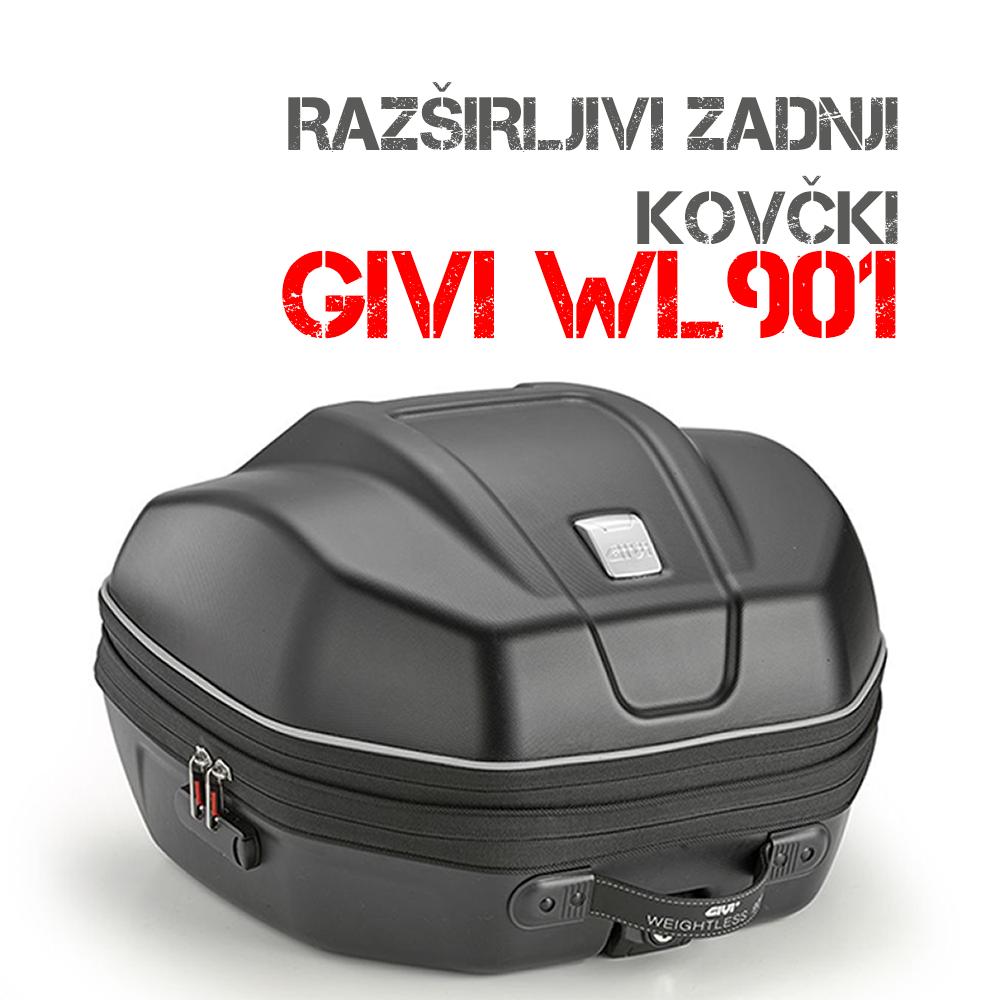 GIVI Razširljivi moto kovčki WL901
