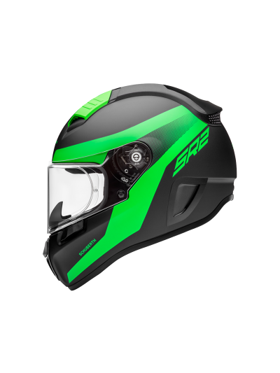 Motoristična čelada SCHUBERTH SR2 RESONANCE ZELENA