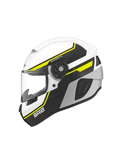 Motoristična čelada SCHUBERTH SR2 Lightning Yellow rumena